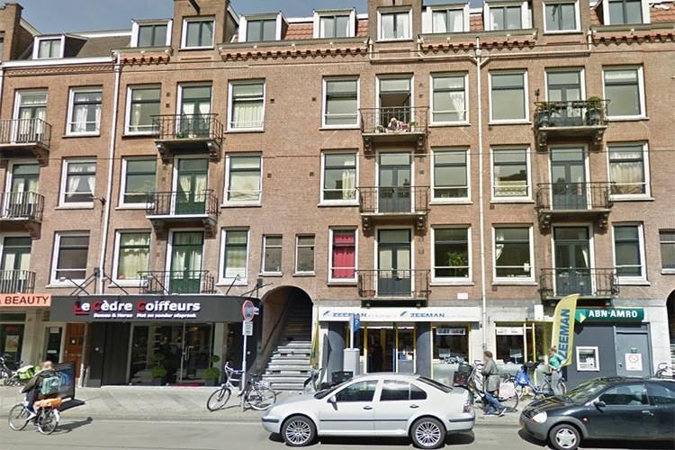 Gevelwerkzaamheden Zeilstraat te Amsterdam