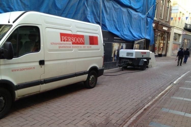 Renoveren en metselen in Amsterdam