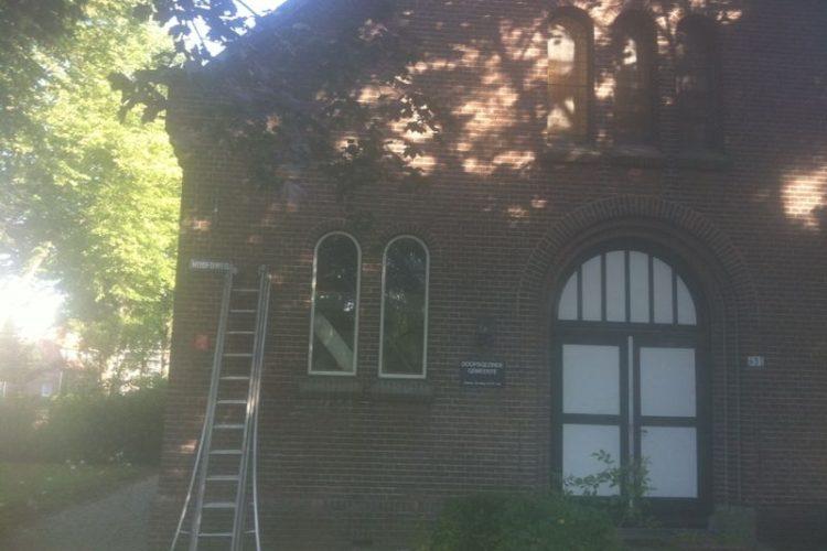 Gevelrenovatie Kerk te Hoofddorp