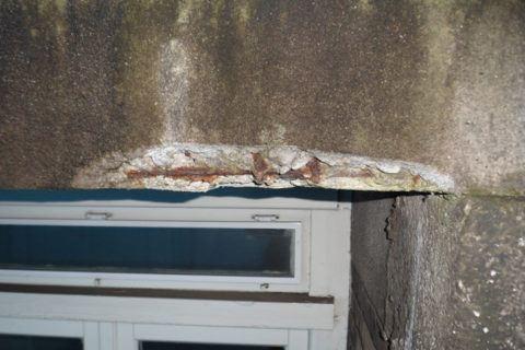 betonrot repareren