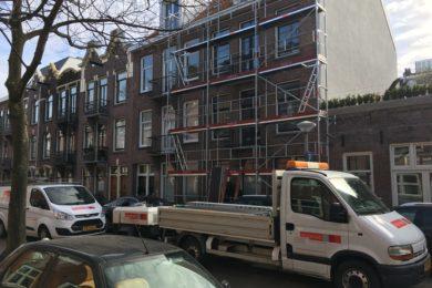 Renovatie Wakkerstraat Amsterdam