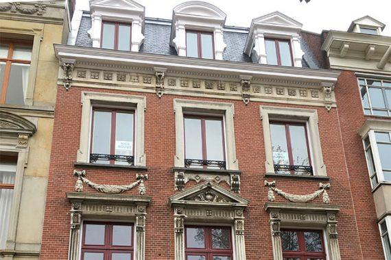 Gevelrestauratie monumentaal pand Amsterdam