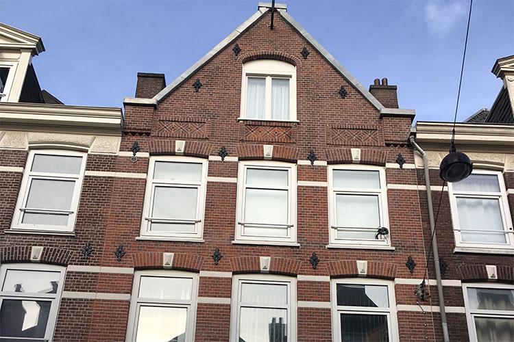 Gevelrenovatie Amsterdam uitgevoerd in de Amsterdamse Pijp