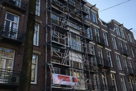 Renovatie gevel Amsterdam
