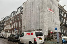 Gevelrenovatie Amsterdam Centrum