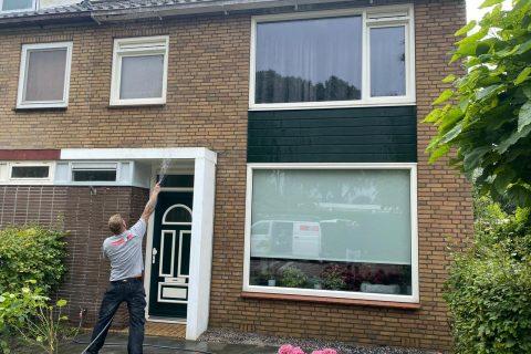 Gevelrenovatie woonhuis in Uithoorn